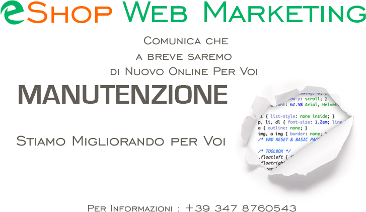 eshop web marketing